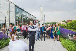 Feier im Dialekt in Merdingen