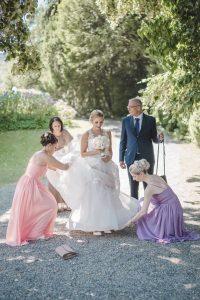 Hochzeit und Trauung in der Villa Boveri in Baden