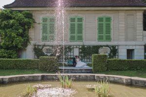 Paarfotos in der Villa Boveri in Baden