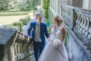 Hochzeitsfotos in der Villa Boveri in Baden