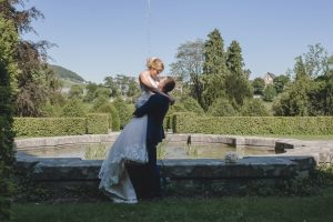 Fotoshooting in der Villa Boveri in Baden