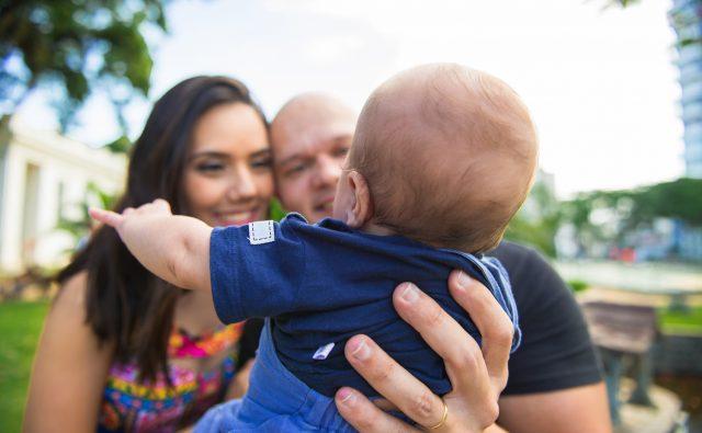 familienfotos brasilianische Familie