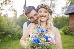 Boho Hochzeitsfoto