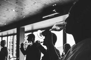 Sektempfang | Der erste Schluck nach dem Anstoßen