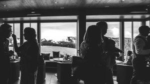 Hotel Die Halde   Sektempfang anlässlich der Eheschließung   Freunde und Familie