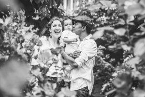 Natürliche Portraits von Familie