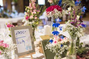 poetisch Boho Hochzeit Tischdeko