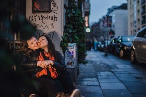 Lesbian Paar