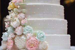Hochzeitstorte-Detail