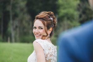 Hochzeitsfoto in Kreis von Waldkirch