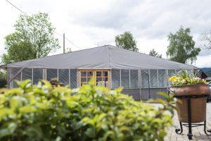 Scheunen-Zelt Landgasthof Bären Zarten