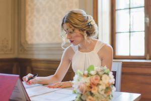 Hochzeit im Zivilstandsamt