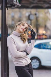 modische Instagramerinnen in Paris