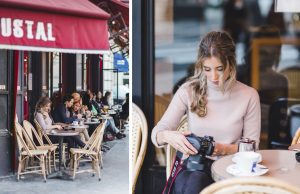 "Kaffee am ""Boulevard Garibaldi"""