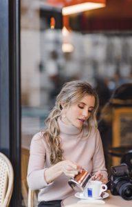 Instagramerinnen Marina Summer in Paris