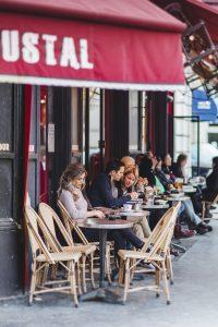 Kaffee Garibaldi in Paris