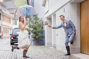 Brautpaar in Freiburg