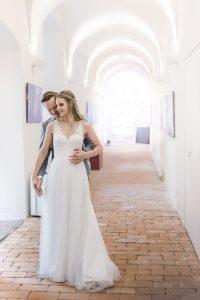 Hochzeitsfotos im Museum